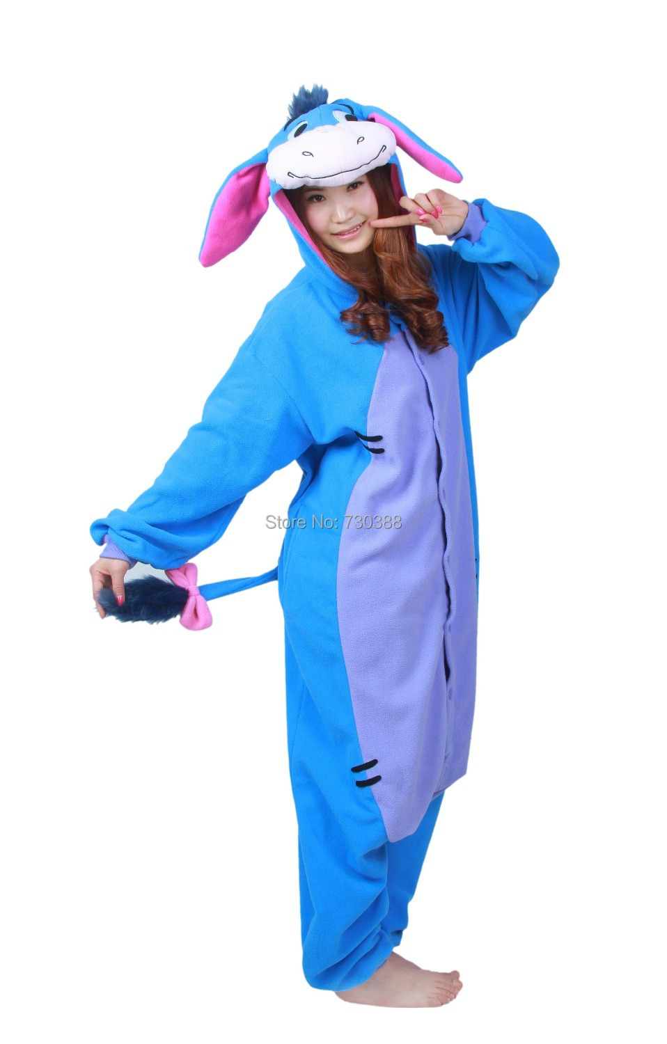 Halloween Cosplay Adult Anime Animal Eeyore Donkey Pajamas One Piece Unisex Onesie Party Costumes Sleepwear Jumpsuit-in Boys Costumes from Novelty u0026 Special ...  sc 1 st  AliExpress.com & Halloween Cosplay Adult Anime Animal Eeyore Donkey Pajamas One Piece ...