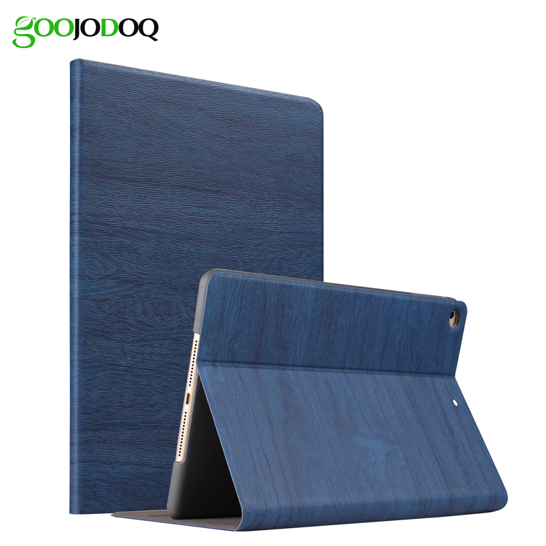 For iPad Air 2 Air 1 Case Retro Magnetic PU Leather Smart Cover Folio Stand Auto