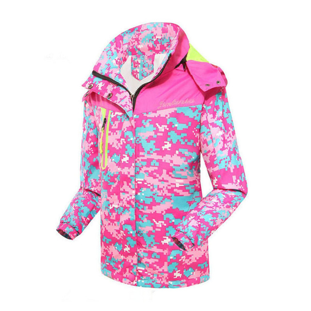 Hot Sale Autumn Children Girl Outerwear Jacket Double-Deck Waterproof Windproof Hooded Coats For Girl 6-15Y Kids Sport Clothes