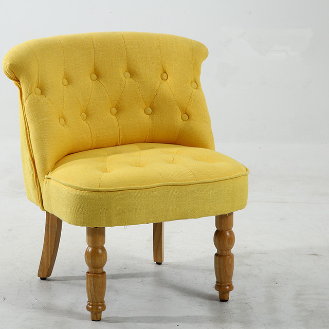 Casual Accent Chair with Button Tufts 4