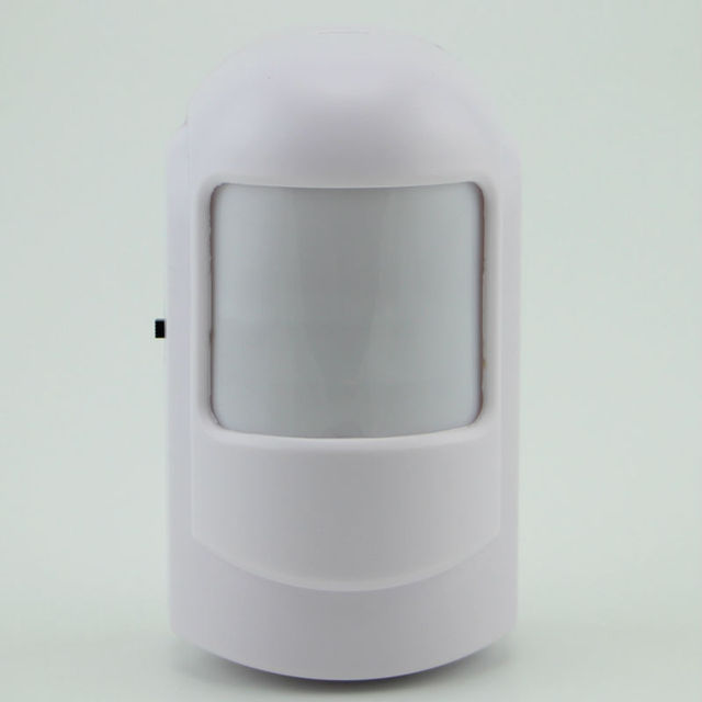 Free shipping 433mhz Wireless PIR sensor motion detector for Wireless GSM/PSTN Auto Dial Home Security Alarm System no battery