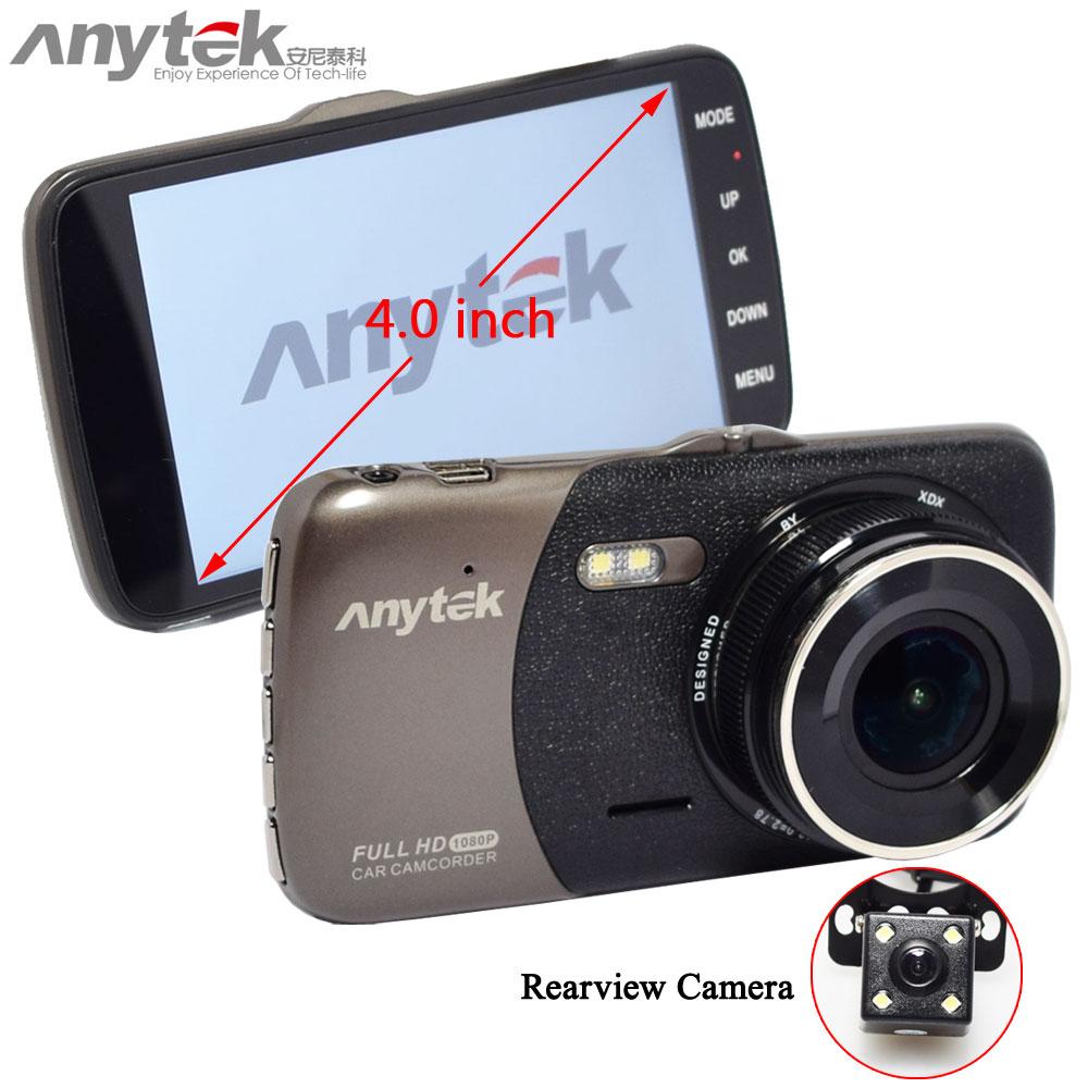 Original Anytek B50H Dual Cameras with 2K 4.0 Dash Camera Car DVR with Mstar chip support G sensor/WDR/Motion Detection herbert l crane the bridge