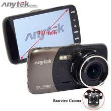 D'origine Anytek B50H Double Caméras avec 2 K 4.0 «Dash Caméra De Voiture DVR avec Mstar puce soutien G capteur DRA,/Motion Détection