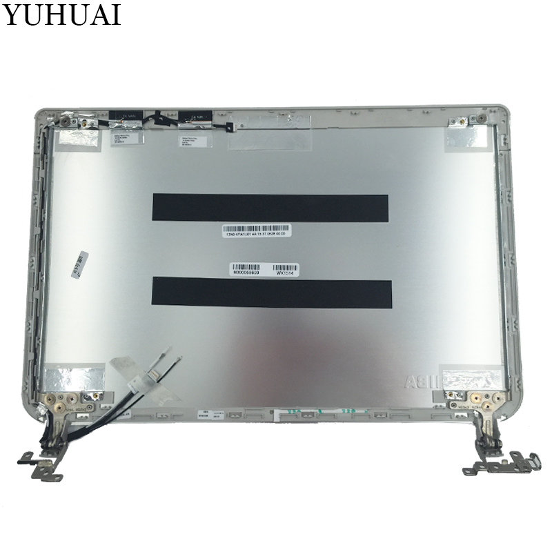 NEW Top cover For Toshiba Satellite E45T-B LCD Back Cover H000068600 13N0-VPA1U01 silver цена