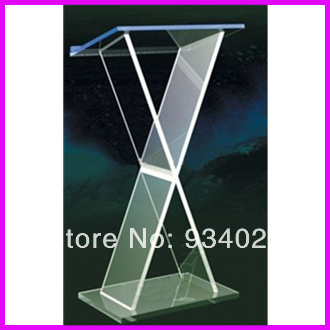 Custom Acrylic Church Lectern Plexiglass
