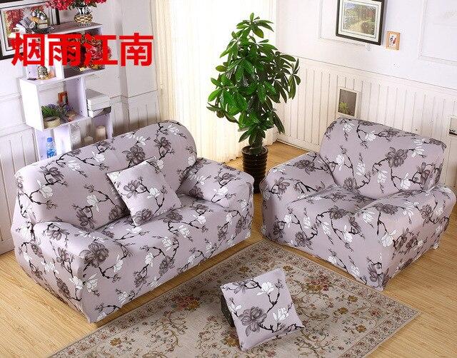 Floral Print Elastic Stretch Sofa Covers For Living Room Furniture Sofa  Protector Funda Sofa Couch Corner