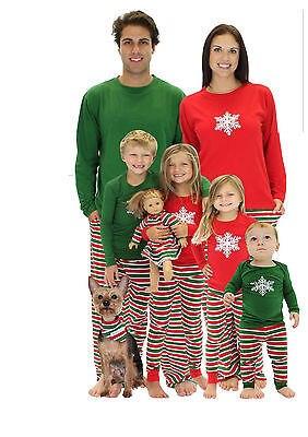 2 UNIDS ropa de Dormir Ropa de Dormir Pijamas Set Para Mujer Para Hombre de Nieve Ciervos Navidad de la Familia
