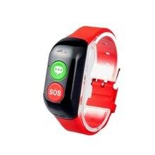 Старик GPS Smart Браслет Wi-Fi фунтов SOS вызова расположение устройства трекер для Gente мэр безопасный анти-потерянный крови сердечного ритма браслет