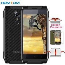 "4g original homtom ht20 smartphone 2 gb + 16 gb ip68 de reconocimiento de huellas digitales a prueba de agua de 4.7 ""android 6.0 mt6737 quad-core celular"