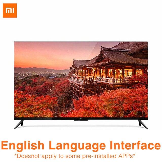 Xiaomi TV 4 55 pouces 4 K Smart Ultra mince TV avec montage mural et bureau cadre en métal Ultra étroit 2 GB 8 GB Smart TV
