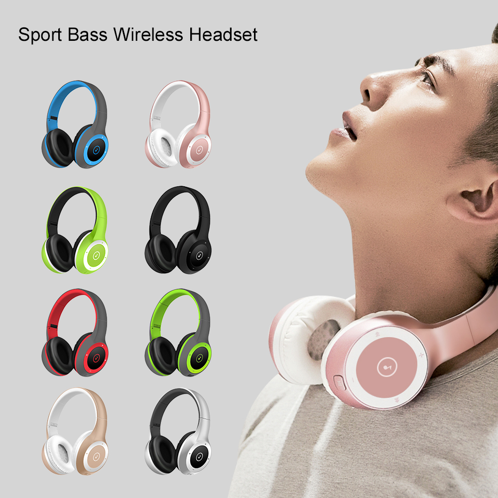 ELE haut de gamme actif réduction du bruit casque sans fil Bluetooth casque sans fil avec microphone pour téléphones