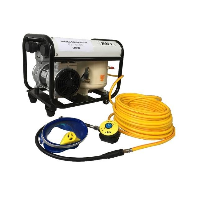 Hookah system diving compressor inflator air pump with - Hookah dive compressor ...