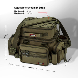 Image 3 - Piscifun Grote Capaciteit Vissen Tas Draagbare Multifunctionele Tackle Box Bag Multifunctionele Outdoor Wandelen Camping Bolsa De Pesca