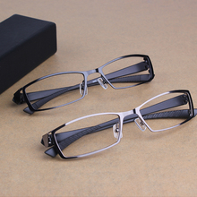 2016 Men's Business Leisure Titanium Alloy Optical Glasses Frame Brand Design TR90 Myopia Prescription Eyeglasses oculos de grau