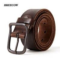 Top Quality Men S Genuine Leather Belt Designer Belts Men Luxury Strap Fashion Vintage Pin Buckle