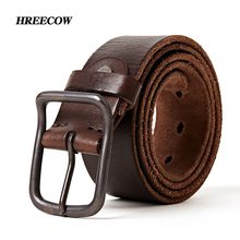 Top quality mens genuine leather belt designer belts men luxury strap fashion vintage pin buckle for jeans store star products