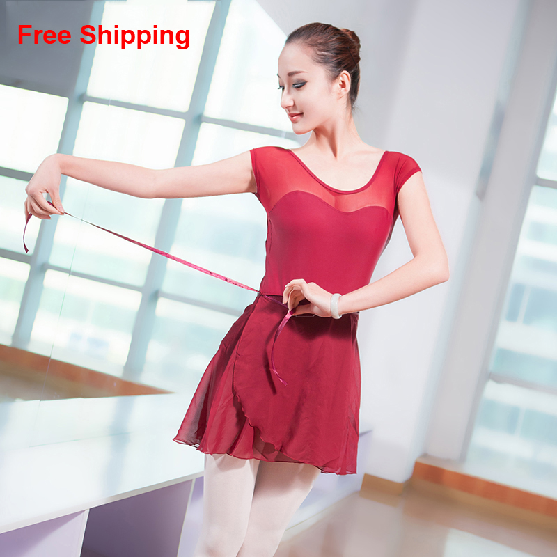 New Fashion Sexy Low Back Mesh Ballet Dance Leotard Adult -6355