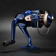 NL 1000-6000 4 series reel shaft fishing reel wheel gear wheel spinning fishing tackle