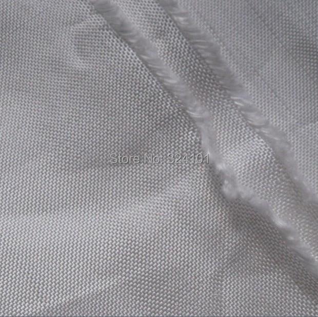 UHMWPE 400d vezels geweven stof 125g/m2 platbinding licht HPPE doek witte hshmpe rugzak kajak snowboard doek slijtage- bestendig
