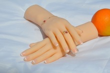 Fetish simulation hand model real silicone mold  show beauty down health fetish,small girl