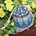 New Bohemia ethnic purse organizer canvas makeup artist bags harajuku small cosmetic bag for make up nesesser travel woman pouch