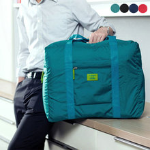 Hot Sale  Foldable Waterproof Travel Handbag Suitcase Storage Bag Large Capacity Shoulder Bags FC55