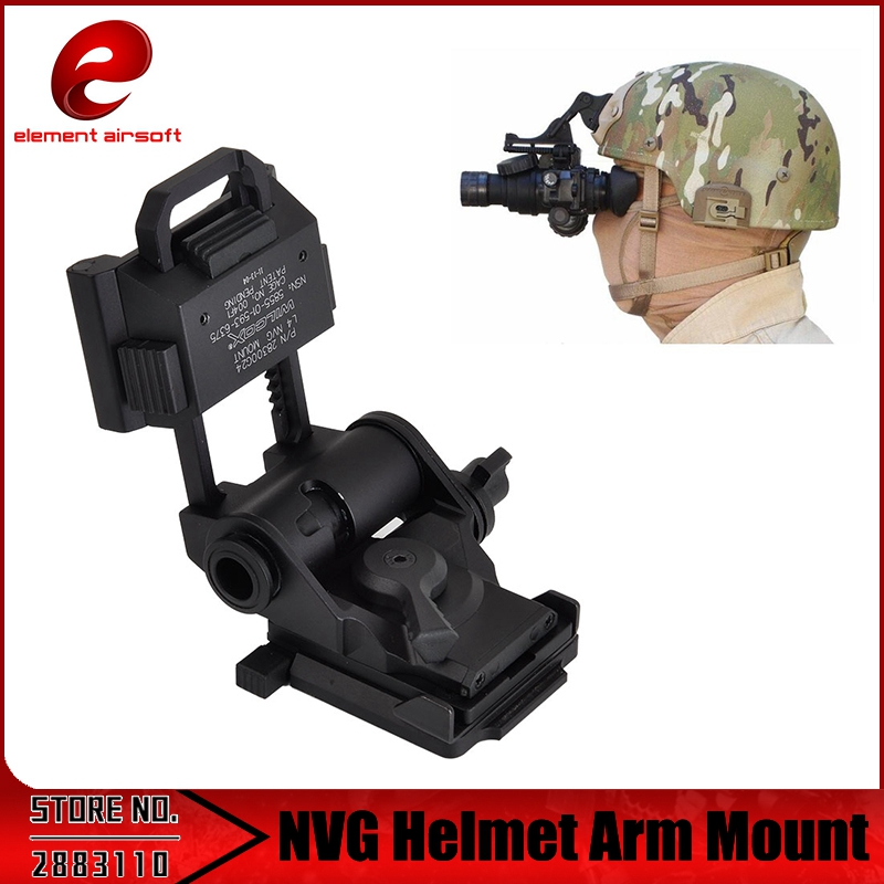 Element Paintball L4 G24 Style FAST Helmet Mount for NVG Night Vision Goggle Monocular Airsoft Tactical Army Mount Helmet L4G19 military m88 helmet accessory airsoft paintball combat helmet mount kit rhino nvg mount for night vision