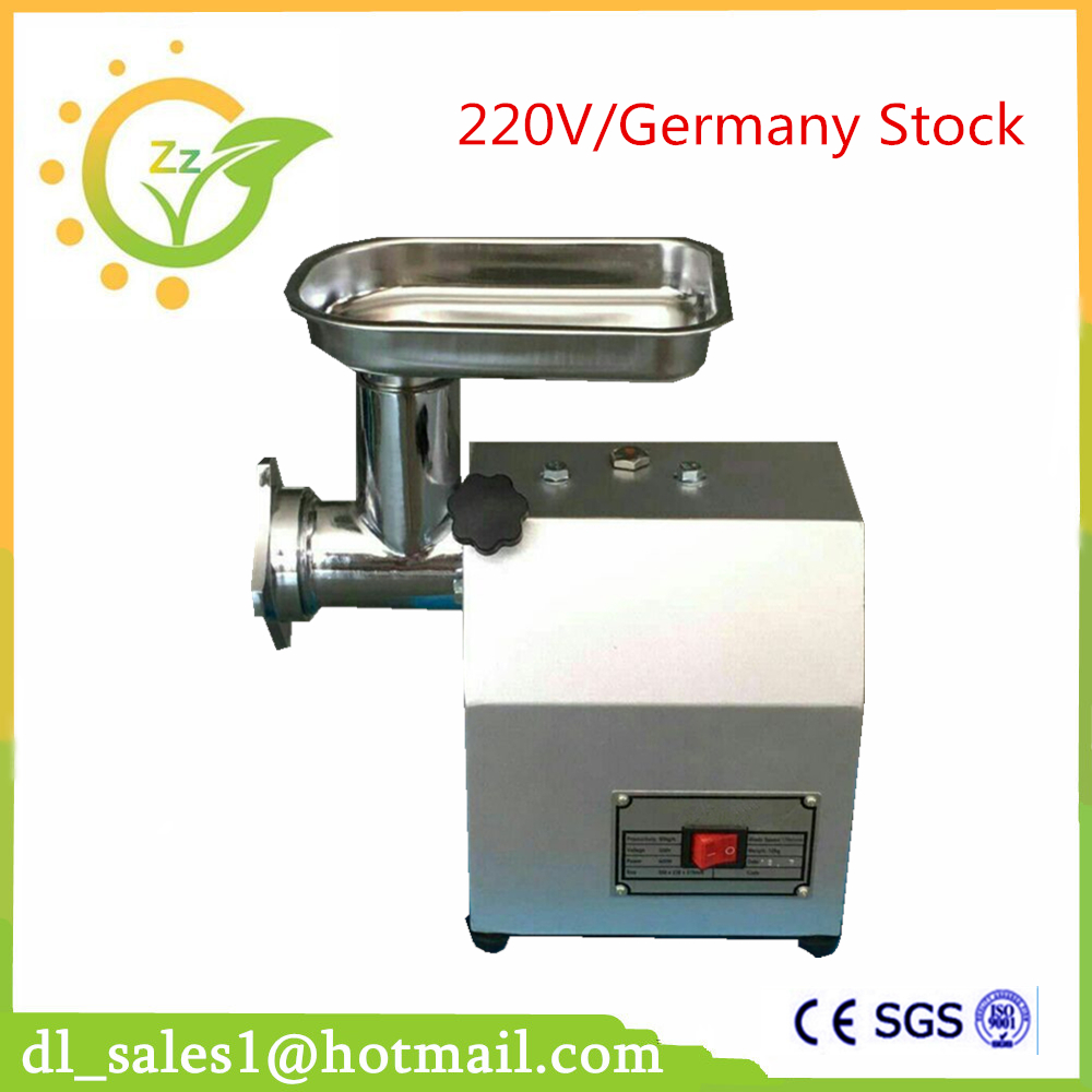 High Quality Multifunctional Electric Meat Grinder Mincer 400W Commercial Sausage Stuffer Filler  Germany Stock
