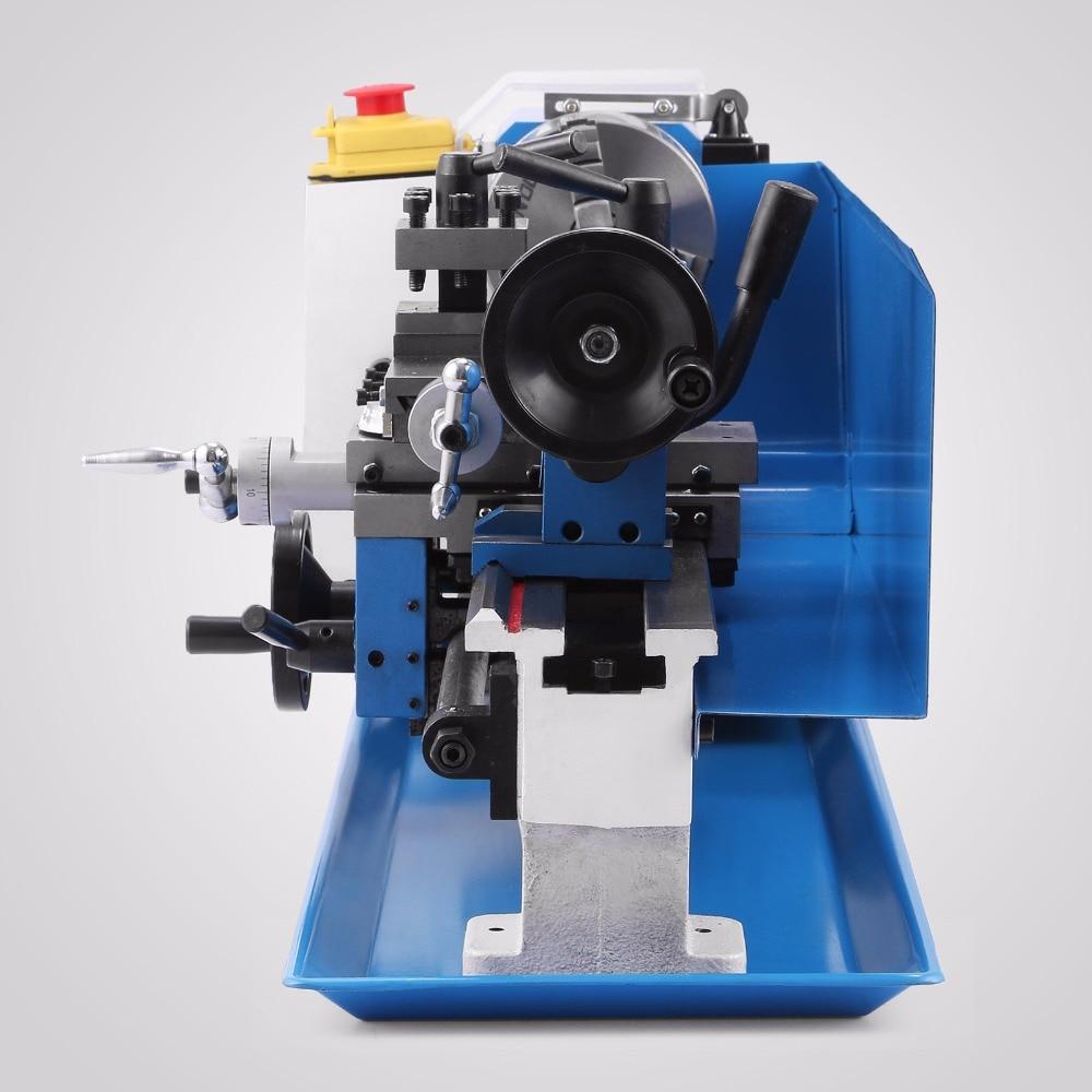 VEVOR 550W Mini Metall Drehmaschine Arbeits Holz Werkzeug Maschine Variabler Geschwindigkeit Fräsen Digital Display