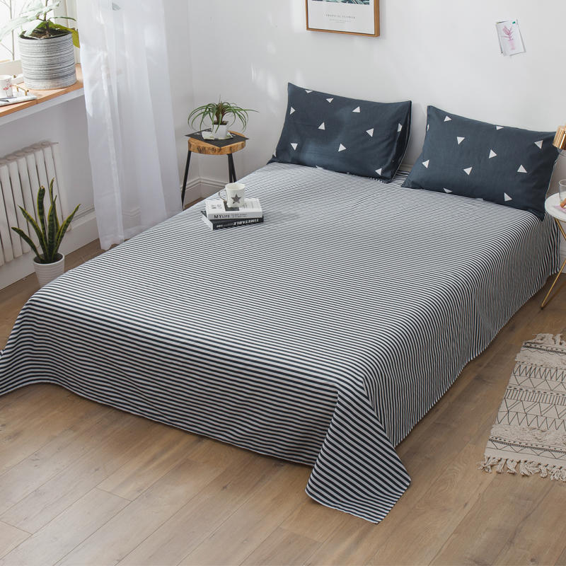 AHSNME polyester coton mélangé super doux feuilles 1 pcs 245x245 cm