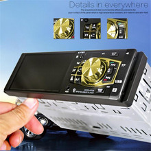 Hot Bluetooth Car Stereo Audio Bluetooth Handsfree FM Aux Input Receiver SD USB MP3 4032BT Car Styling Retail&Wholesale