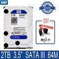 WD синий 2 ТБ внутренний жесткий диск 3,5