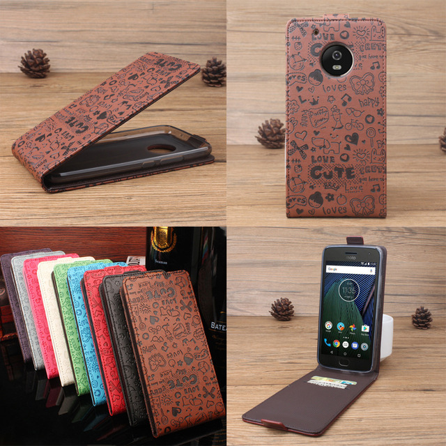 various colors 87050 ce9b7 For MOTO G5 Case Little witch Pattern Vertical Flip Cover Open Down/up Back  Cover Case For Motorola G5 MOTO G 5 XT1685 XT1672 -in Flip Cases from ...