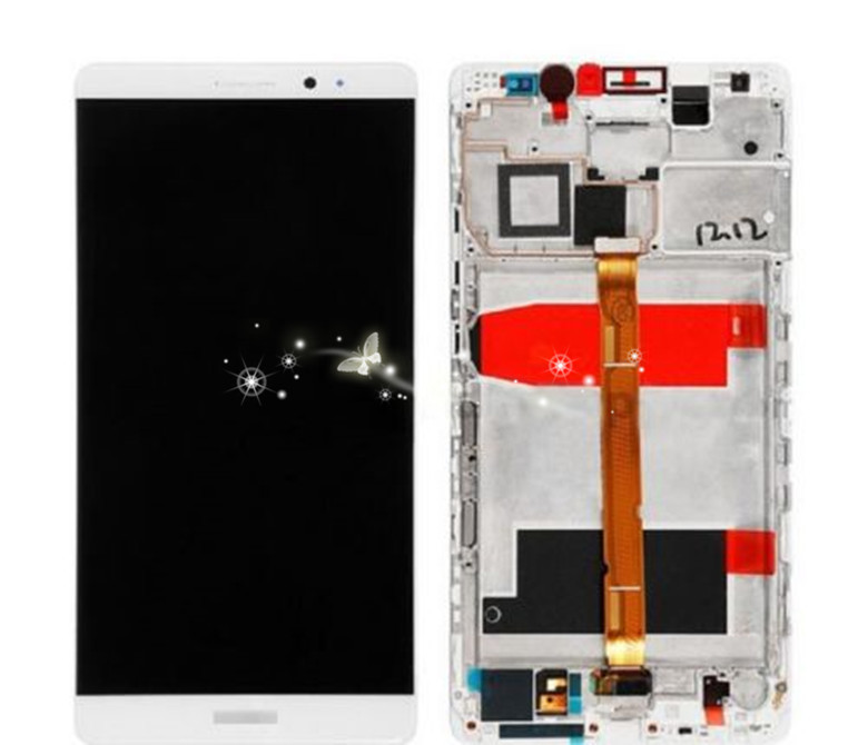 A Replacement LCD Display +Touch Screen Digitizer Assembly For Huawei mate 8 with frame free shipping