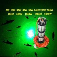 Рыбалка Lure 2800 Вт AC 200-240 В 30 м кабель глубоко под водой светодио дный Рыбалка Свет для кальмар Малек и т. д.