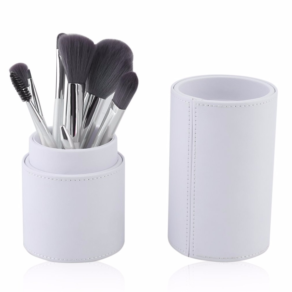 8pcs/set Bamboo Charcoal Fiber Makeup Brushes Cosmetics Brush Set Foundation Powder Eyeliner Lip Brush Beauty Tool new
