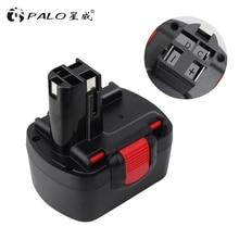 PALO For Bosch 14.4V 3000mAh BAT038 Power Tools Battery  Ni-MH Batteries for Drill 3454, 3454-01, 3454SB, 34614, 35614, 3660K