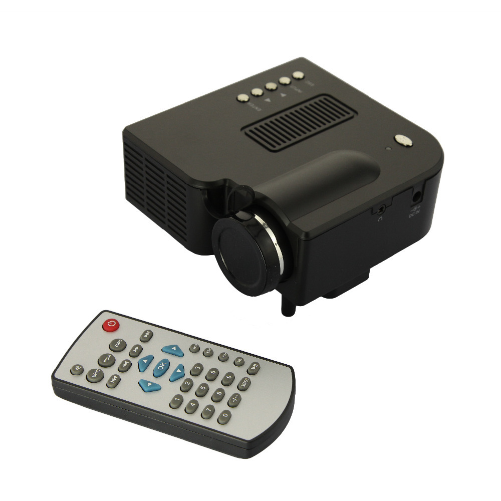 DBPOWER Portable proyector mini Multimedia GW25 projector led video Full HD 1080p Home Education 400 Lumen 300:1