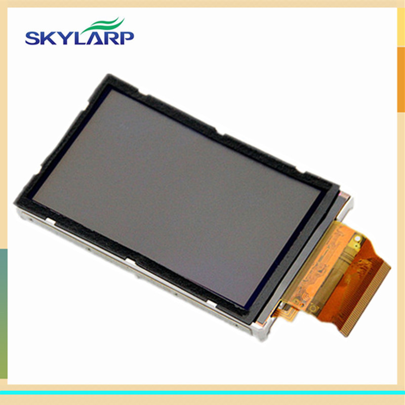 skylarpu 3 inch LCD screen For GARMIN OREGON 400 400i 400c 400t Handheld GPS display screen panel (without touch) skylarpu 2 2 inch lcd screen module replacement for lq022b8ud05 lq022b8ud04 for garmin gps without touch