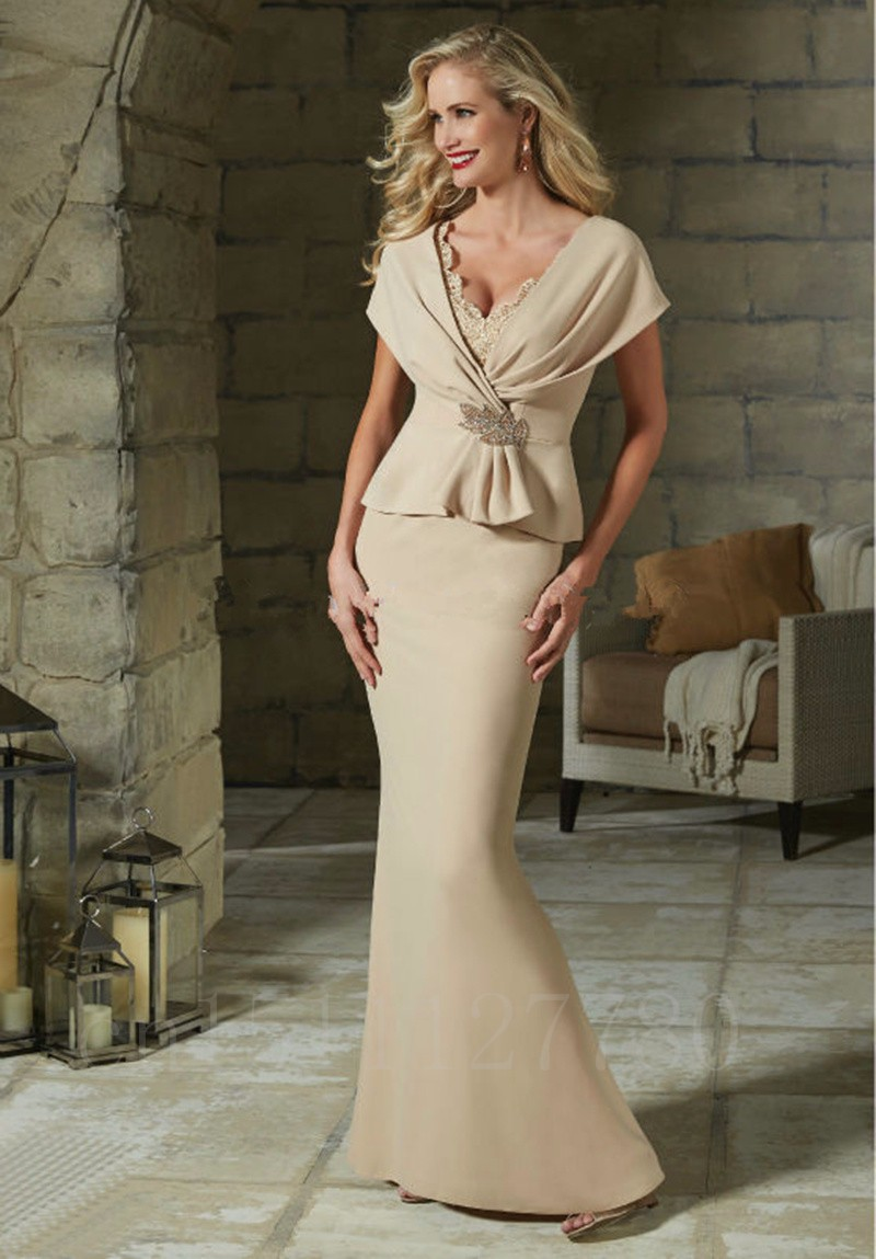 Long-Champagne-Satin-Mermaid-Mother-Of-The-Bride-Pant-Suits-2016-New-Elegant-Cap-Sleeve-Formal