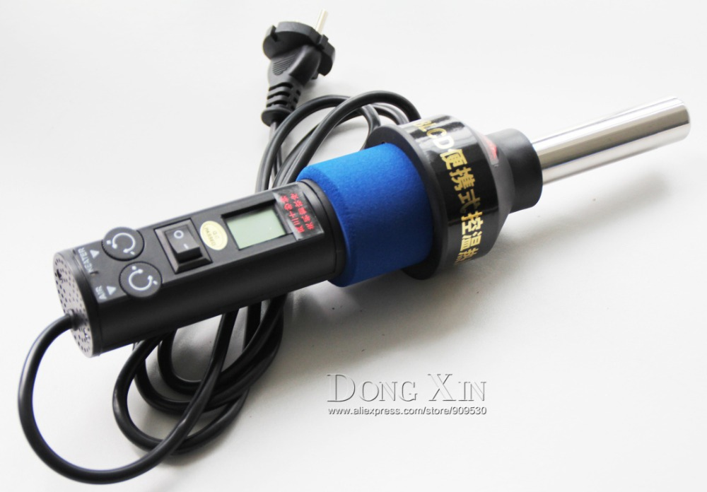 LCD Soldering Rework Station Hot Air Gun ICs SMD Desolder For BGA Nozzle UK new