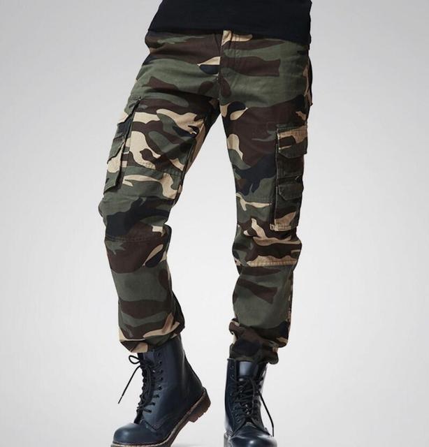 2018 mens camuflaje táctico Pantalones patrón de CAMO multi ...
