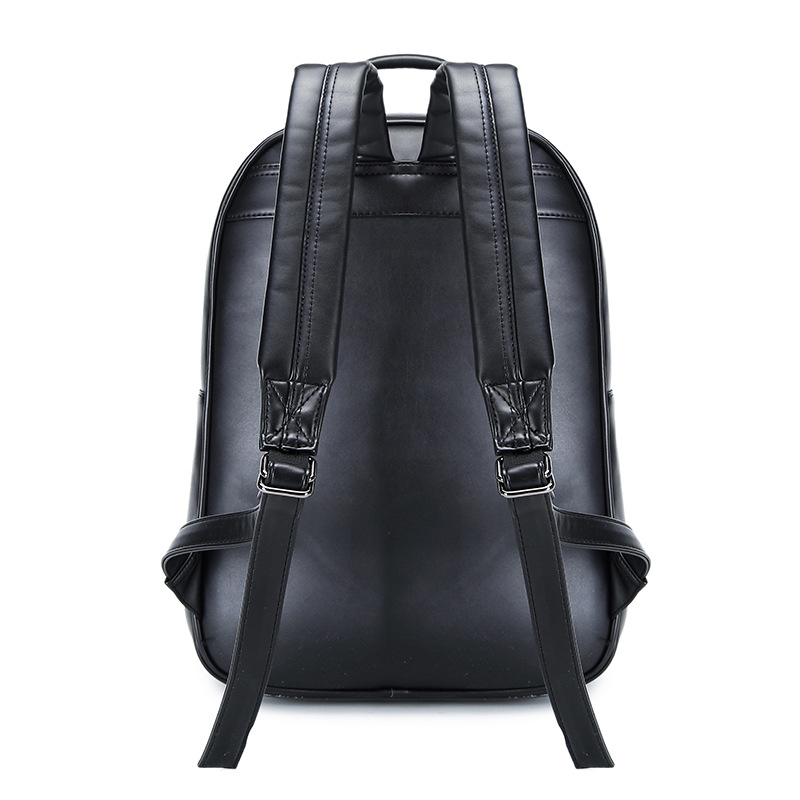 Men's Bags Backpacks Goog.yu Crossed Rivets Leather Backpack Men Tide Cool 3d Owl Relief Shape Laptop Backpacks Creative Paragraph Neutral Cat Bag At Any Cost
