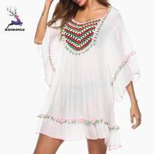 d670cc65fb Fairy lu 2018 nouvelle plage cache maillot de bain cache Crochet vêtements  de plage maillot de bain cache femme plage robe de pl.