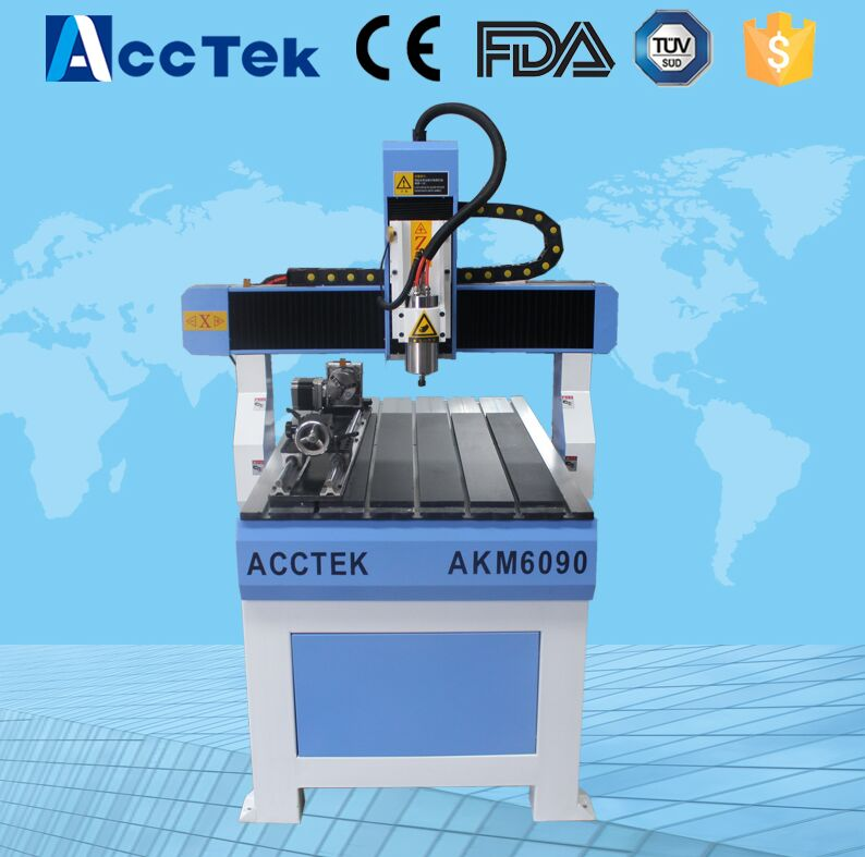 4 axis woodworking cnc routers/ 6090 4th axis cnc router cnc 4th axis 6090 model