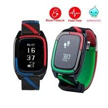 Smart Band DB05 часы IP68 Водонепроницаемый браслет измеритель пульса шаг Приборы для измерения артериального давления трекер Фитнес браслет PK DB03