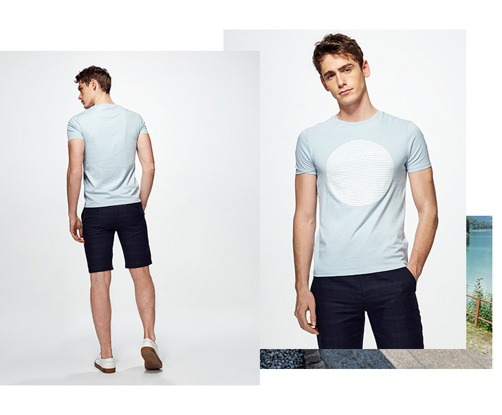 HTB1Iu8pAYuWBuNjSszgq6z8jVXag - SELECTED  cotton round collar short-sleeved T-shirt C|4182T4593