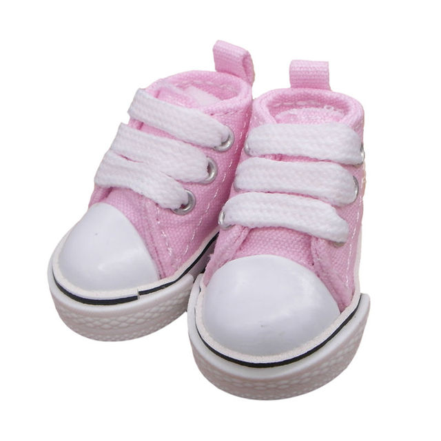 2fe3b7bee7e72 US $387.6 49% OFF Tilda 5cm 1/6 Canvas Doll Sneaker Shoes For KPOP EXO 20cm  Cotton Doll Toy,Mini Doll Gym Shoes for Russian Textile Tilda Dolls-in ...