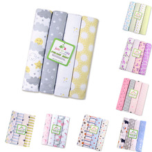ФОТО 100cotton flannel baby blanket /pack receiving born colorful cobertor baby bedsheet 102x76cm