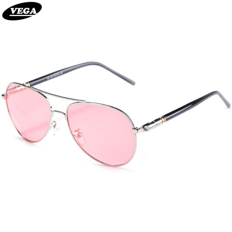 VEGA Woman Man Professional Sunglasses For Fishing Polarized Red Tinted Glasses Fashion Anti Glare Visor Eyewear Red Lenses 209